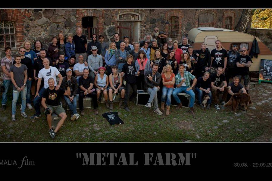 "Dreharbeiten zum ZDF Movie ""Metal Farm"""