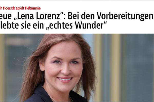 BZ-Artikel zu der ZDF Reihe Lena Lorenz