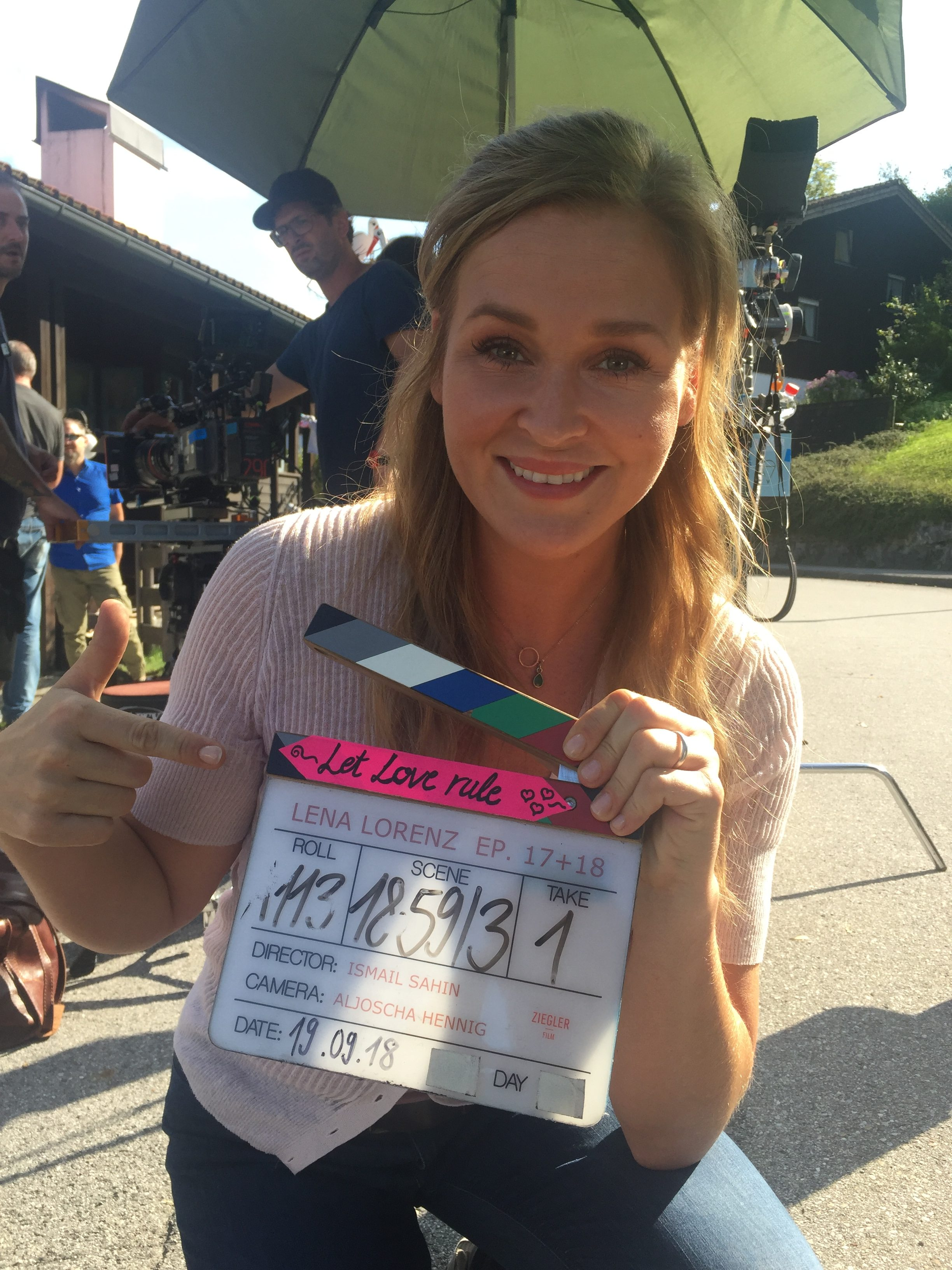 Lena Lorenz abgedreht und neue Rolle im ARD Film
