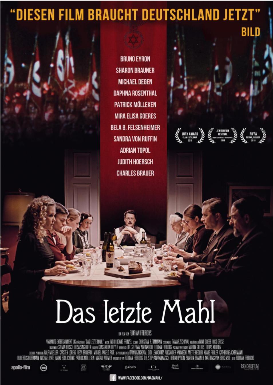 Kino Premiere  DAS LETZTE MAHL 30.01.2019