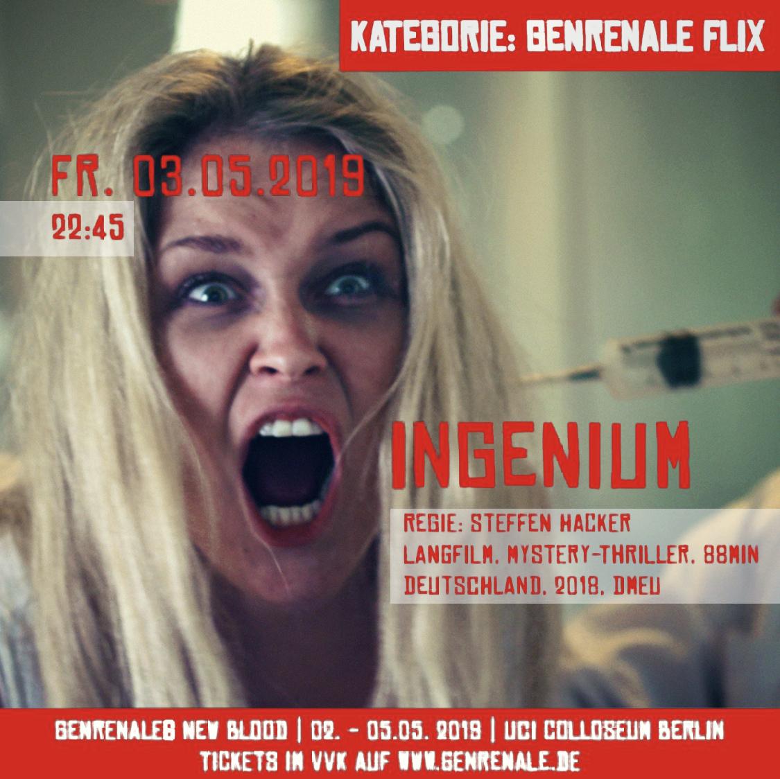 Kinofilm INGENIUM goes Festivaltour!