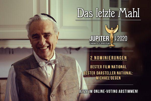 Gleich 2 x nominiert für den Jupiter Award
